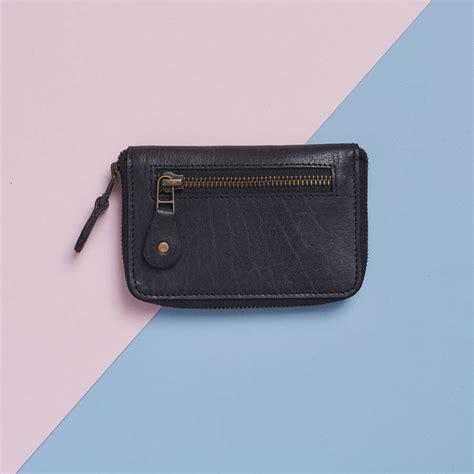 Zip Up Wallet leather zip up wallet by vida vida notonthehighstreet