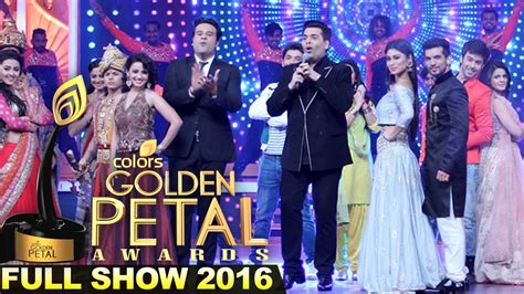 color tv show colors golden petal awards 2016 show carpet