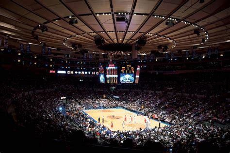 voir  match de basket des  york knicks au madison