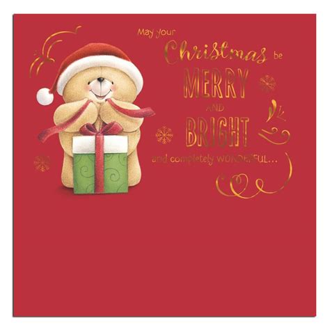 merry  bright  friends christmas card  friends official store