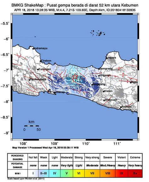 earthquake map indonesia indonesia earthquake map where did deadly magnitude 4 4