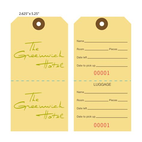 airline luggage tag template custom printed baggage luggage tags hotel tags st
