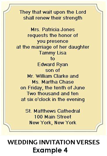 Christian Wedding Bible Texts by Christian Wedding Invitation Wording