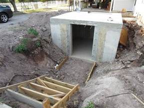 how to build an underground bunker on your own
