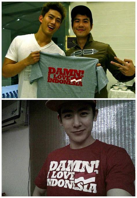 Kaos Indonesia Hebat crypto para idol kpop bangga dengan produk indonesia