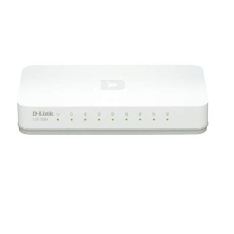 Dlink Des Switch 8 Port 10100 Mbps Network Murah d link des 1008a desktop switch 8 port 10 100 mbps