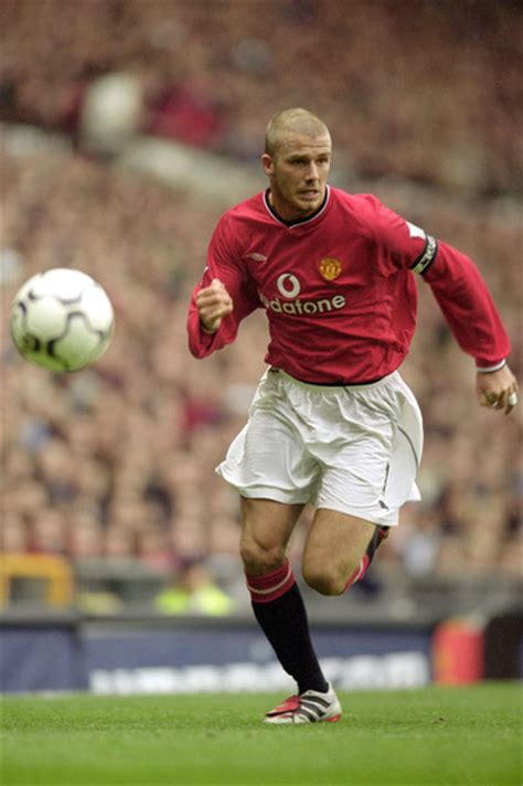 Beckham Unique 828 Si david beckham on manchester united total futbol
