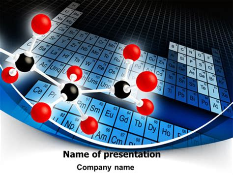 periodic table powerpoint template periodic table of chemical elements powerpoint template