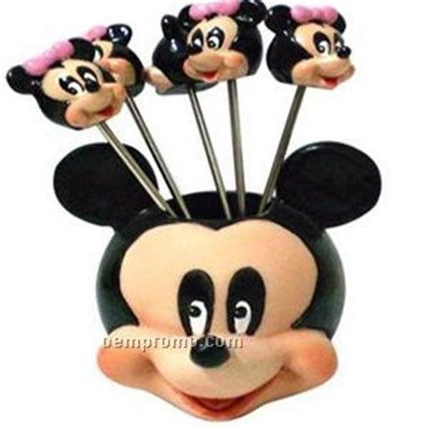 Coklat Stick Mickey Mouse Souvenir mickey mouse fruit pik china wholesale mickey mouse fruit pik
