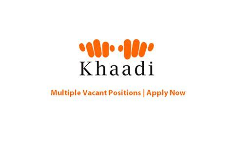 khaadi jobs designer