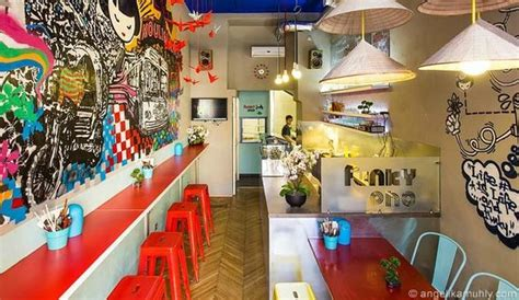 Funky Cafe Interiors by Delicious And Fast Pho Review Of Funky Pho Budapest