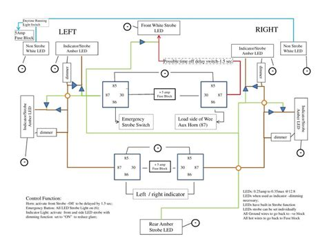 whelen led flasher wiring diagram whelen uhf2150a