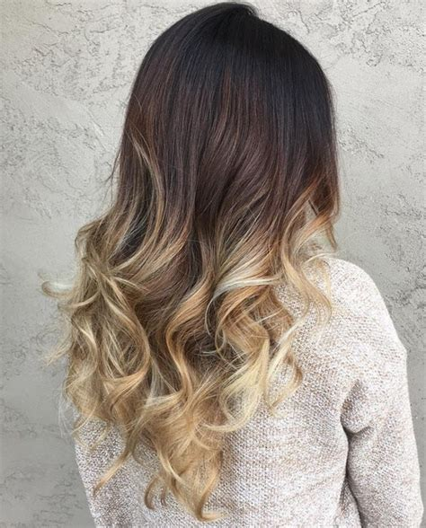 ombre hair over 50 60 trendy ombre hairstyles 2018 brunette blue red