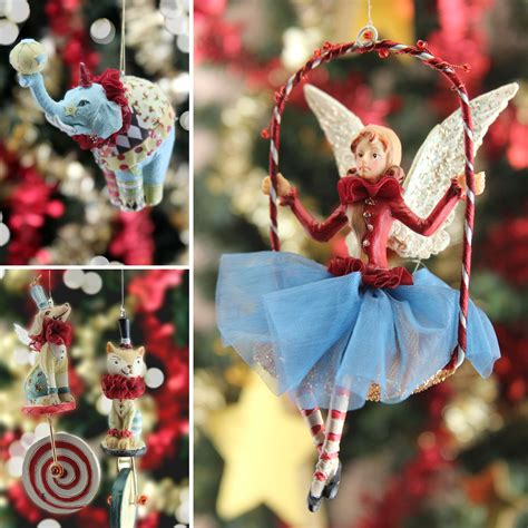 circus themed christmas decorations gisela graham ltd
