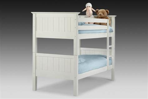 Cheap White Wooden Bunk Beds Bedworld Discount Colorado White Bunk Bed Single 90cm Review Compare Prices Buy