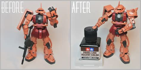 Tamiya Panel Accent Black Gundam Tools apfro 180 s gunpla tamiya panel line accent colour review