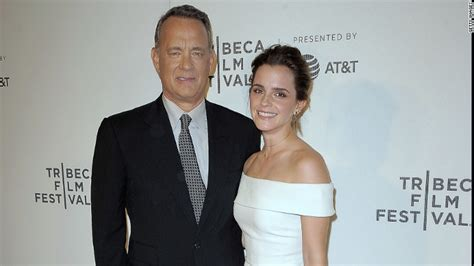 emma watson tom hanks movie emma watson tom hanks weigh healthy social media diet