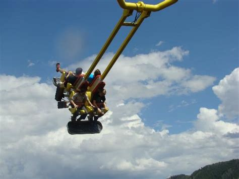 colorado swing giant canyon swing picture of glenwood caverns adventure