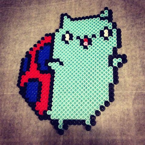 perler at catbug perler bead by jaymzeecat on deviantart