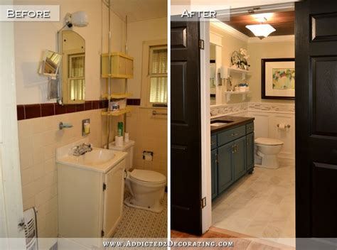 before and after bathroom remodels living in a fixer upper money pit is it worth it