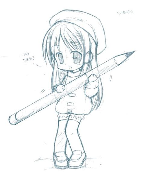 sketchbook pro lineart tutorial anime chibi drawings pencil 17833code png projects to