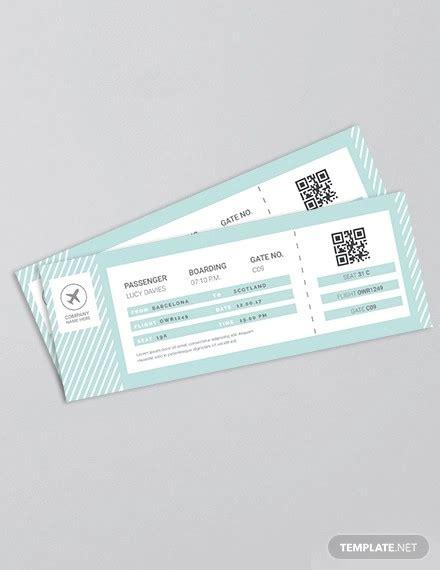 13 Travel Ticket Templates Psd Ai Word Free Premium Templates Travel Ticket Template