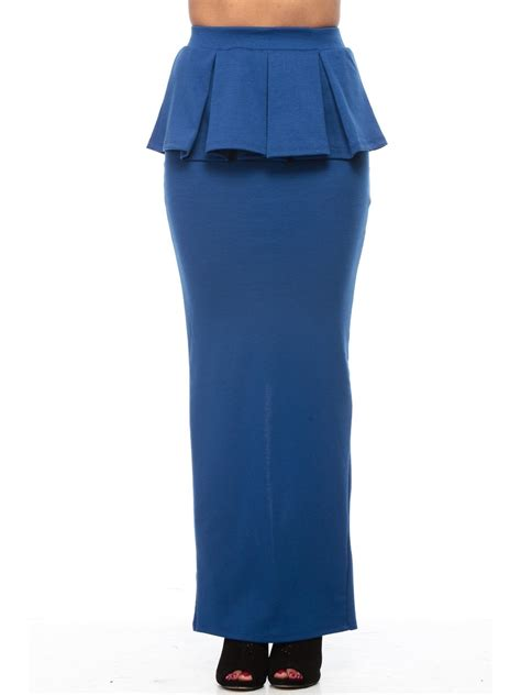 royal blue peplum maxi skirt e71070 4 cilory