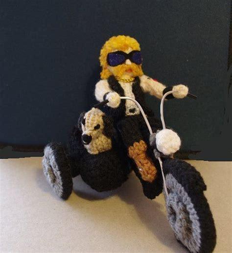 amigurumi motorcycle pattern biker royce pattern free download knit i just