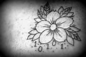 fiori bianco e nero 8 tatuaggi con fiori celebrano la primavera bigodino