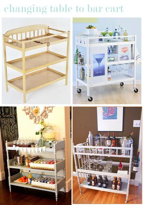 Ideas For Changing Tables Repurpose Changing Table Ideas Repurposed Furniture Pinterest Awesome Bar And Tables