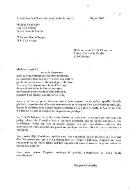 Lettre De Bienvenue Free Madame La Pr 233 F 232 Te Soyez La Bienvenue Ranimons La Cascade De Salles La Source
