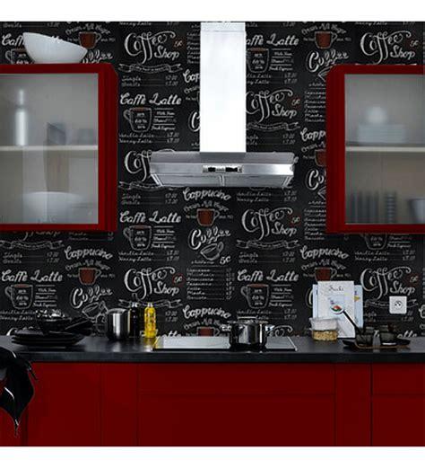 pizarras para cocinas papel pintado para cocinas imitaci 243 n pizarra y letras con