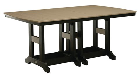rectangle counter height dining table 44 quot x 96 quot rectangle dining table counter height