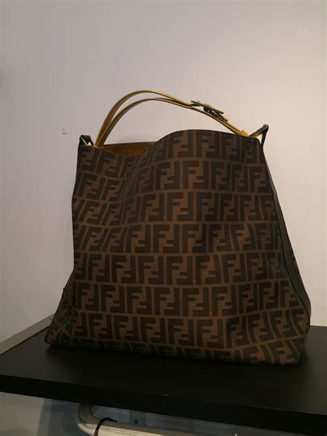Design Custom Fendi 004 fendi monogram tote bag trunk show designer consignment