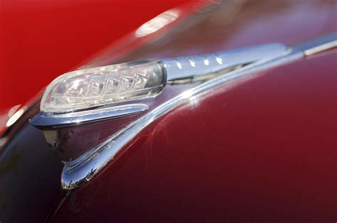 1948 plymouth convertible ornament photograph by