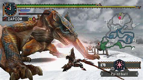 theme psp monster hunter monster hunter freedom 2 game psp playstation