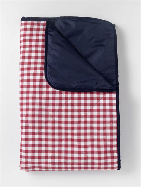Just A Rug I by Gingham Padded Picnic Rug By Just A