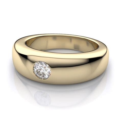 6 8mm s wedding ring in 14k yellow gold