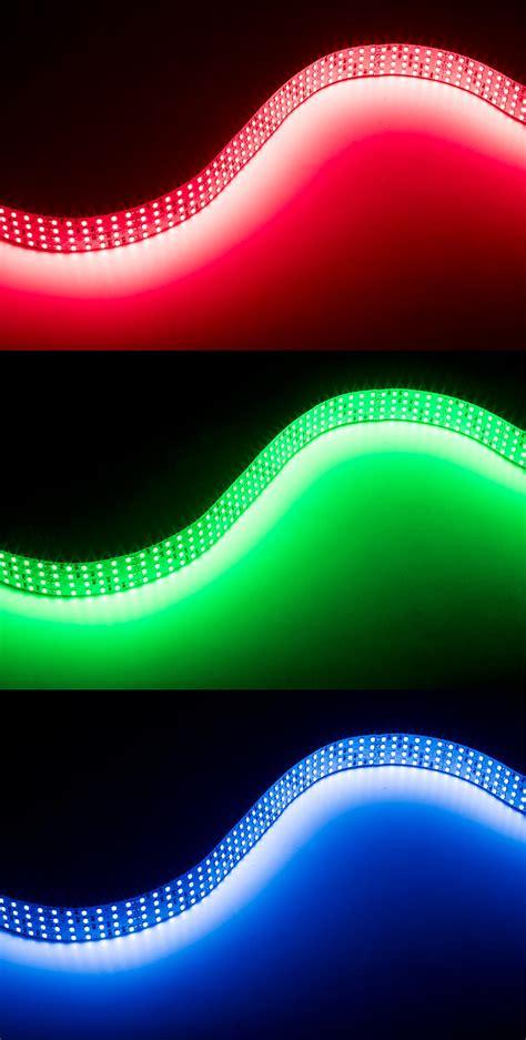 Led Bright bright color led lights custom length 24v led light row 991 lumens ft