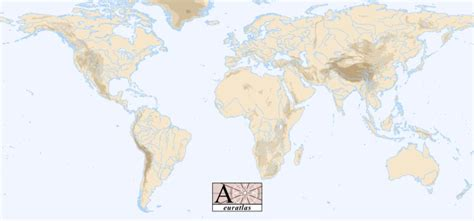 world map rivers and mountains world atlas all the mountains of the world
