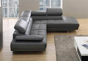 leather corner sofa stylist modern grey leather corner sofa right