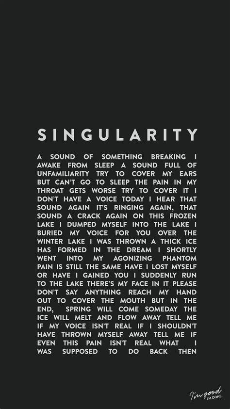 bts the untold lyrics bts intro singularity wallpaper lockscreen bangtan kpop