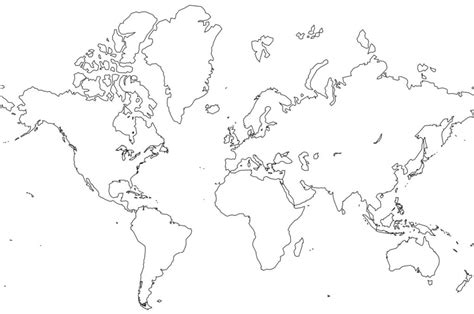 large world map coloring page free printable world map coloring pages for kids best