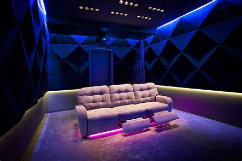 Home Theater Interiors home theater offers cozy comfort in russia the internets