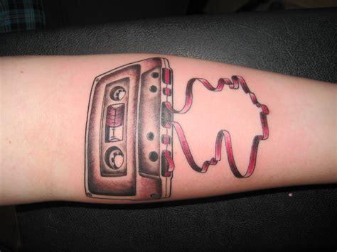 tape tattoo designs classic cassette venice designs