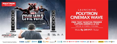 Tv Polytron Cinemax Wave launching promo polytron cinemax wave kaskus