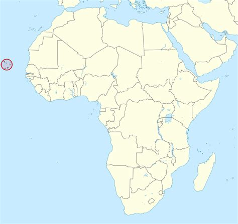 sections of africa file cape verde in africa mini map rivers svg