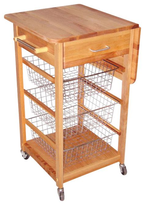 cuisine butcher block kitchen island cart with drop leaf catskill craftsmen birch hardwood cuisine butcher block