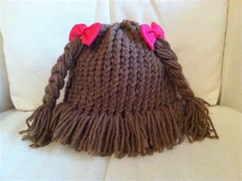 diply gabbage patch knit hat cabbage patch style knitted hat