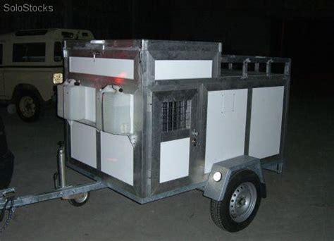 grifos termicos depositos de agua para remolques de perros transportes